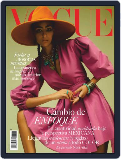 Vogue Mexico Magazine (Digital) August 1st, 2020 Issue Cover
