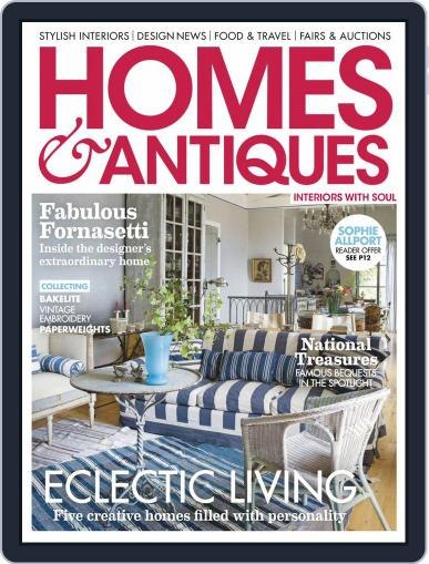 Homes & Antiques Magazine (Digital) August 1st, 2020 Issue Cover