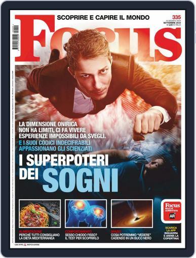 Focus Italia Magazine (Digital) September 1st, 2020 Issue Cover