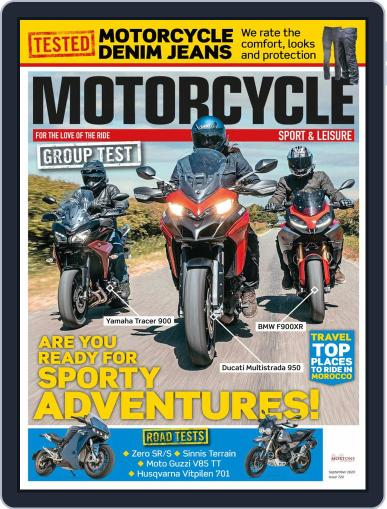 Motorcycle Sport & Leisure Magazine (Digital) September 1st, 2020 Issue Cover
