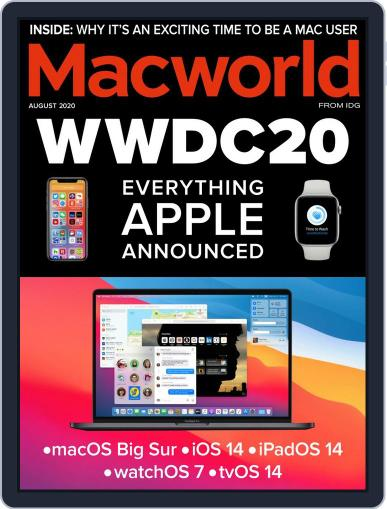 Macworld UK Magazine (Digital) August 1st, 2020 Issue Cover