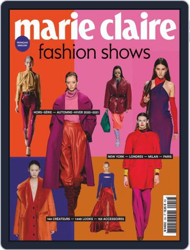 Marie Claire Fashion Shows Magazine (Digital) May 1st, 2020 Issue Cover