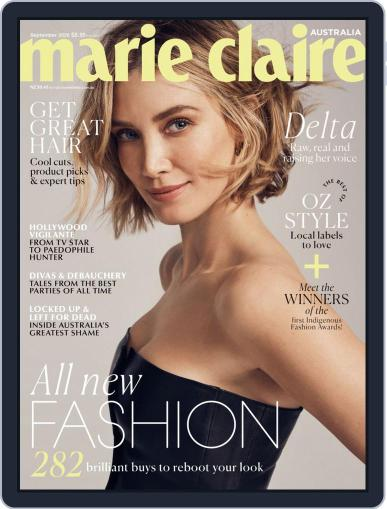 Marie Claire Australia Magazine (Digital) September 1st, 2020 Issue Cover
