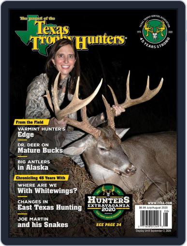 The Journal of the Texas Trophy Hunters Magazine (Digital) July 1st, 2020 Issue Cover