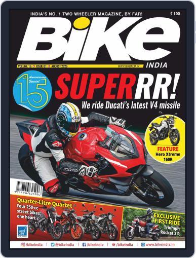 BIKE India Magazine (Digital) August 1st, 2020 Issue Cover