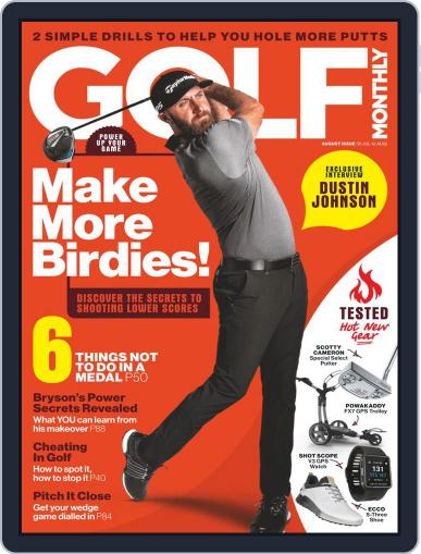 Golf Monthly Magazine (Digital) August 1st, 2020 Issue Cover
