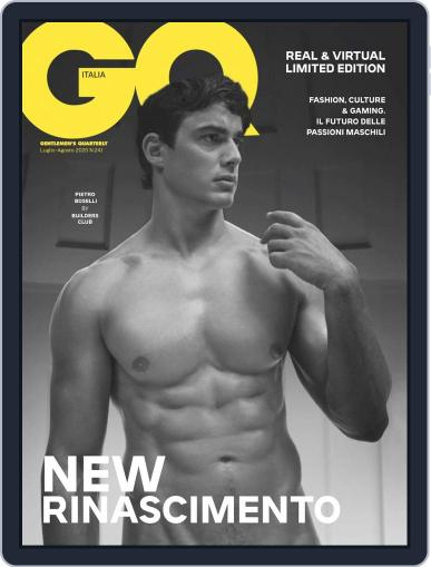 Gq Italia Magazine (Digital) July 1st, 2020 Issue Cover