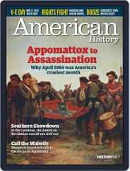 American History Magazine (Digital) Subscription June 1st, 2015 Issue