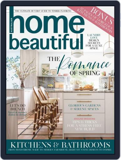 Australian Home Beautiful Magazine (Digital) September 1st, 2020 Issue Cover