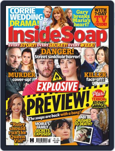 Inside Soap UK Magazine (Digital) August 15th, 2020 Issue Cover