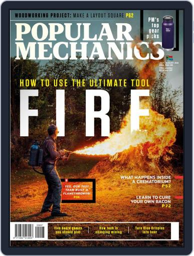 Popular Mechanics South Africa Magazine (Digital) July 1st, 2020 Issue Cover