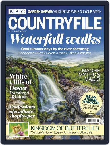 Bbc Countryfile Magazine (Digital) August 1st, 2020 Issue Cover