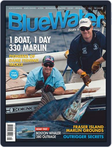 BlueWater Boats & Game Fishing Magazine (Digital) April 1st, 2020 Issue Cover