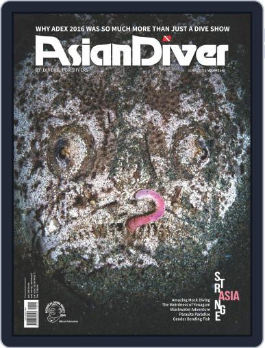 Asian Diver (Digital) July 1st, 2016 Issue Cover