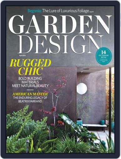 Garden Design (Digital) March 2nd, 2013 Issue Cover