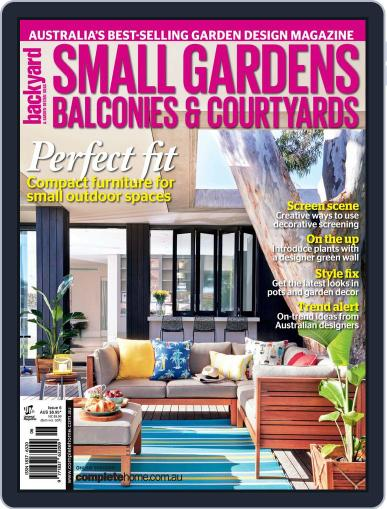 Small Gardens, Balconies & Courtyards Magazine (Digital) May 14th, 2015 Issue Cover