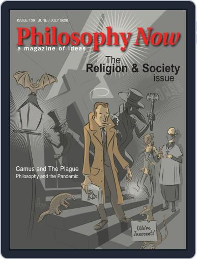Philosophy Now Magazine (Digital) June 1st, 2020 Issue Cover