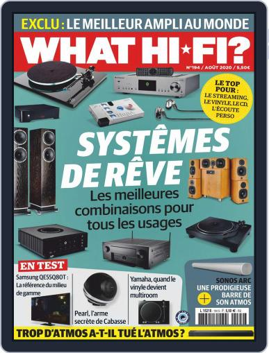 What Hifi France Magazine (Digital) August 1st, 2020 Issue Cover