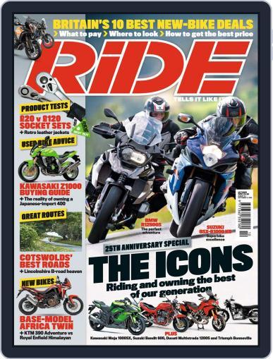 RiDE United Kingdom Magazine (Digital) October 1st, 2020 Issue Cover