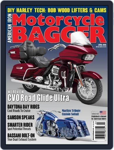 Motorcycle Bagger (Digital) April 1st, 2015 Issue Cover