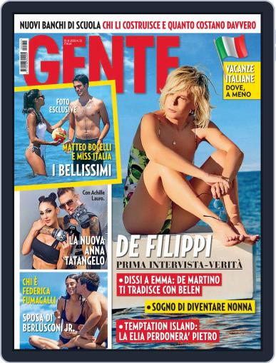 Gente Magazine (Digital) August 15th, 2020 Issue Cover