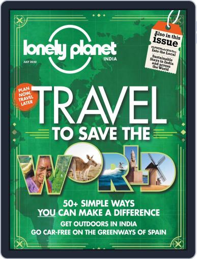 Lonely Planet Magazine India Magazine (Digital) July 1st, 2020 Issue Cover