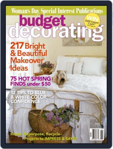Budget Decorating Ideas (Digital) April 14th, 2009 Issue Cover