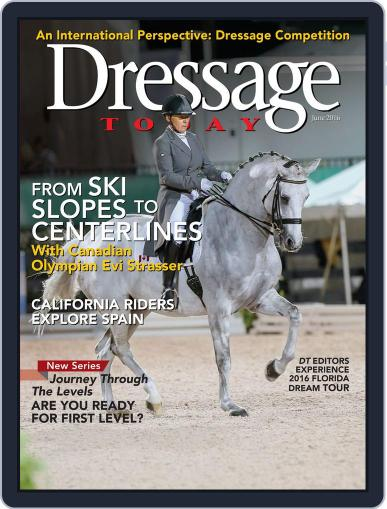 Dressage Today Magazine (Digital) May 17th, 2016 Issue Cover