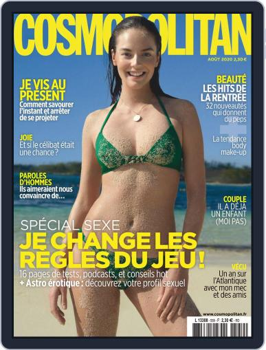 Cosmopolitan France Magazine (Digital) August 1st, 2020 Issue Cover