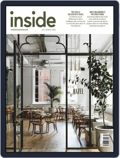 (inside) interior design review Magazine (Digital) July 1st, 2020 Issue Cover