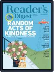 Reader's Digest Canada Magazine (Digital) Subscription September 1st, 2020 Issue