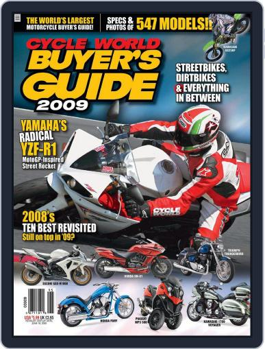 Cycle World Buyer's Guide (Digital) March 4th, 2009 Issue Cover