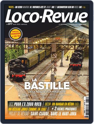 Loco-revue Magazine (Digital) August 1st, 2020 Issue Cover