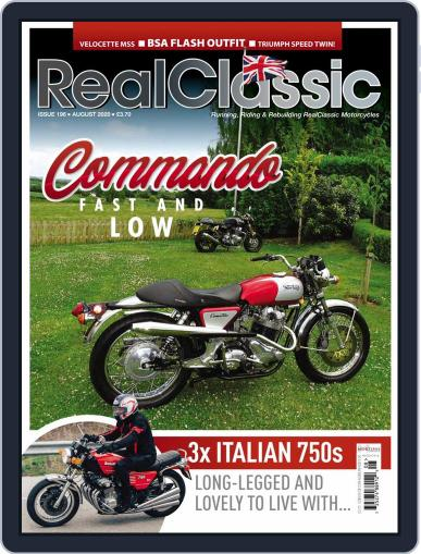 RealClassic Magazine (Digital) August 1st, 2020 Issue Cover
