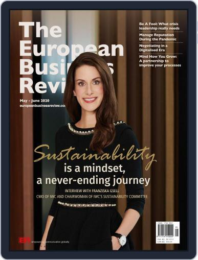 The European Business Review Magazine (Digital) May 1st, 2020 Issue Cover