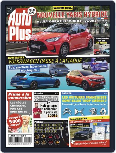 Auto Plus France Magazine (Digital) August 7th, 2020 Issue Cover