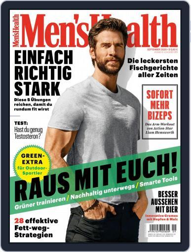 Men's Health Deutschland Magazine (Digital) September 1st, 2020 Issue Cover