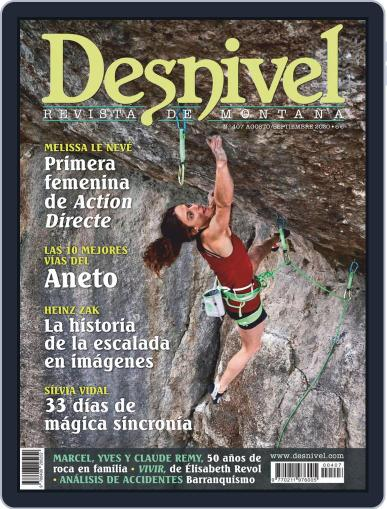 Desnivel Magazine (Digital) August 1st, 2020 Issue Cover