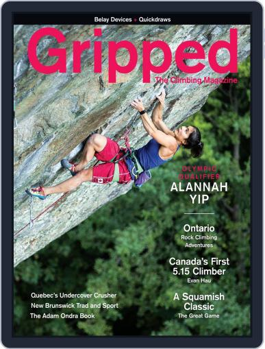 Gripped: The Climbing Magazine (Digital) August 1st, 2020 Issue Cover
