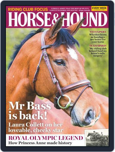 Horse & Hound Magazine (Digital) August 13th, 2020 Issue Cover