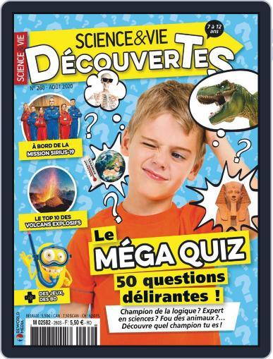 Science & Vie Découvertes Magazine (Digital) August 1st, 2020 Issue Cover