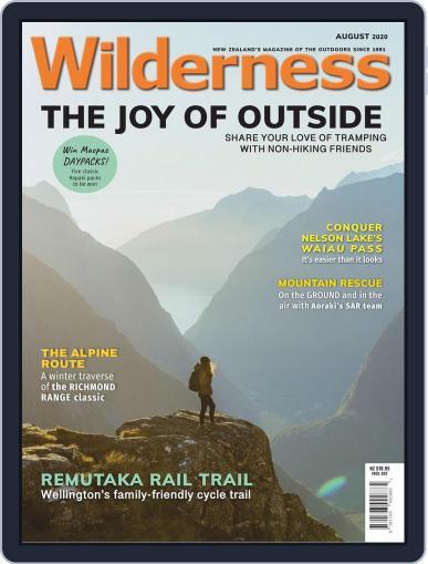 Wilderness Magazine (Digital) August 1st, 2020 Issue Cover