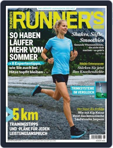 Runner's World Deutschland Magazine (Digital) August 1st, 2020 Issue Cover