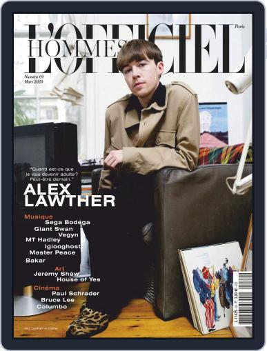 L'officiel Hommes Paris Magazine (Digital) March 1st, 2020 Issue Cover