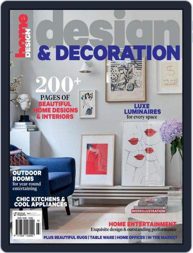 Design And Decoration Magazine (Digital) June 1st, 2016 Issue Cover