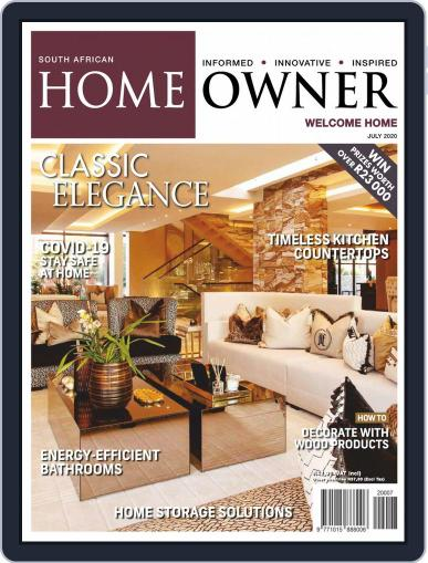 South African Home Owner Magazine (Digital) July 1st, 2020 Issue Cover