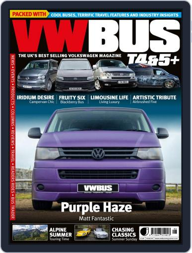 VW Bus T4&5+ Magazine (Digital) June 25th, 2020 Issue Cover