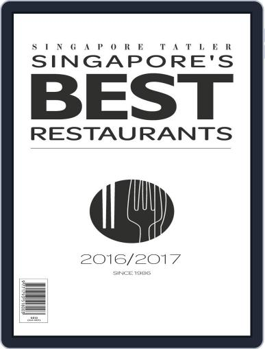Singapore Tatler Singapore's Best Restaurants Magazine (Digital) April 1st, 2017 Issue Cover