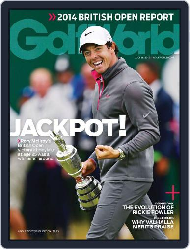 Golf World (Digital) July 22nd, 2014 Issue Cover