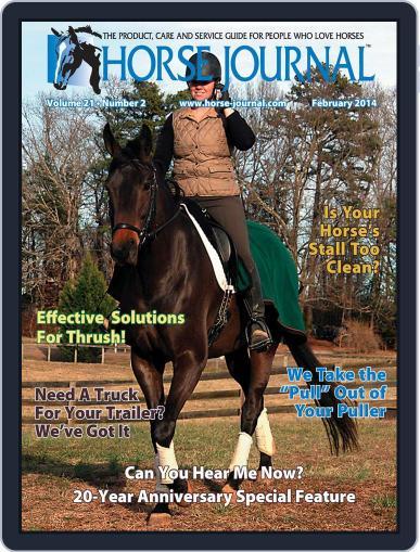 Horse Journal (Digital) February 21st, 2014 Issue Cover